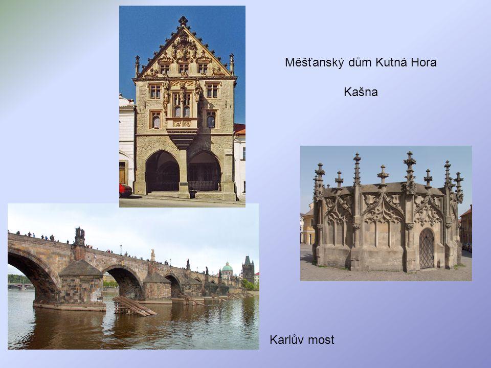 Měšťanský dům Kutná Hora Kašna