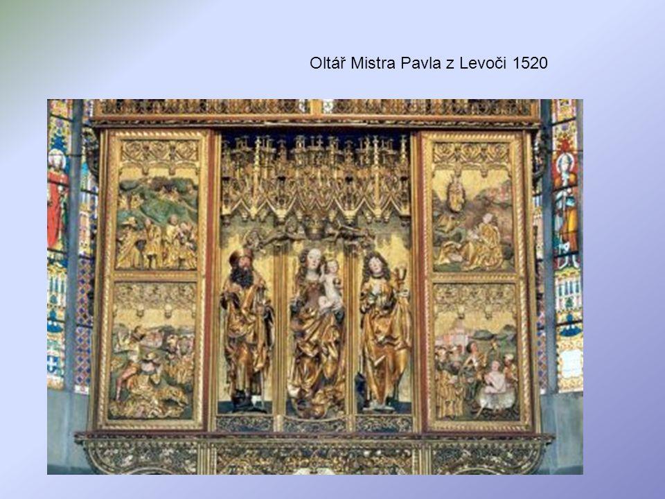 Oltář Mistra Pavla z Levoči 1520