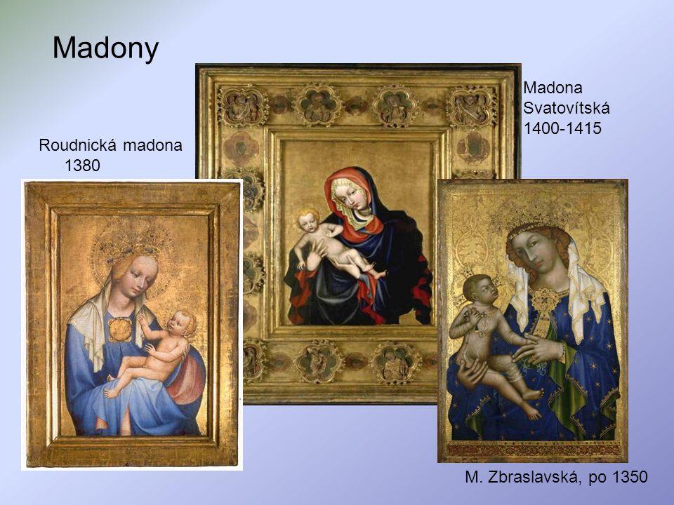 Madony Madona Svatovítská 1400-1415 Roudnická madona 1380