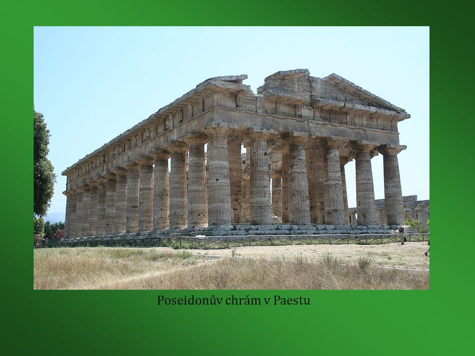 Poseidonův chrám v Paestu