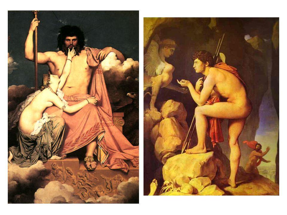 Jupiter a Thétis Oidipus a Sxinga