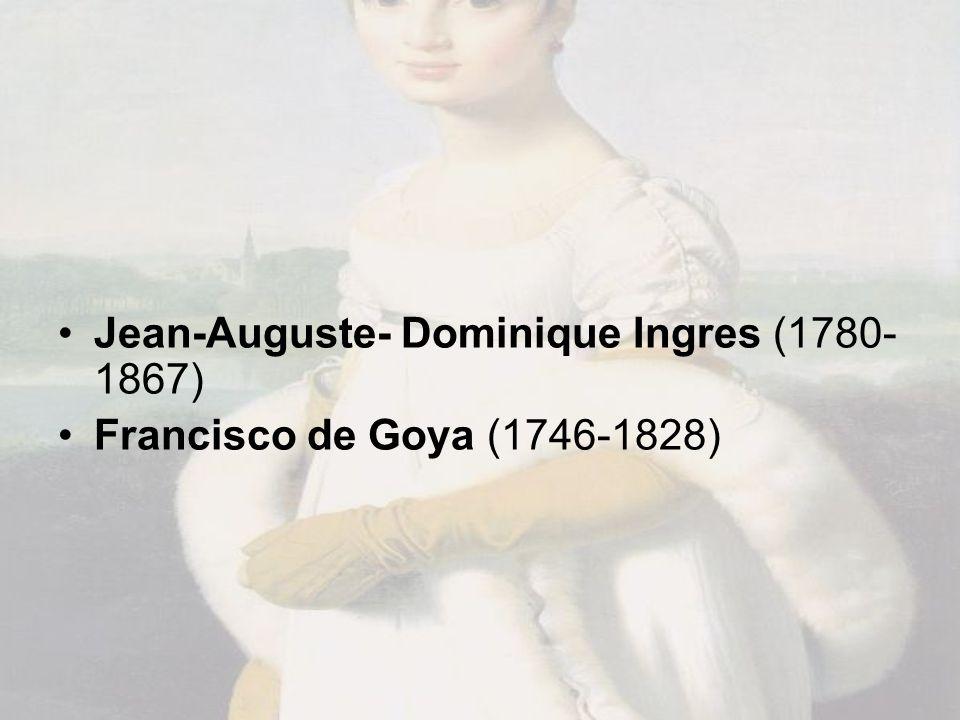 Jean-Auguste- Dominique Ingres (1780-1867)