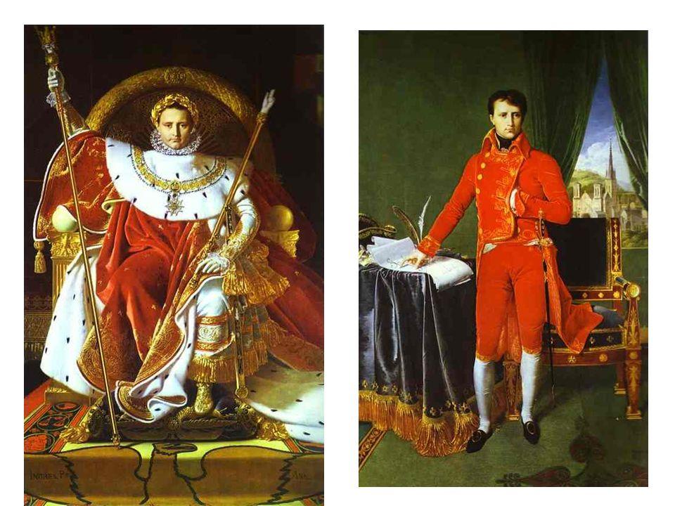 Takto viděl Ingres Napoleona