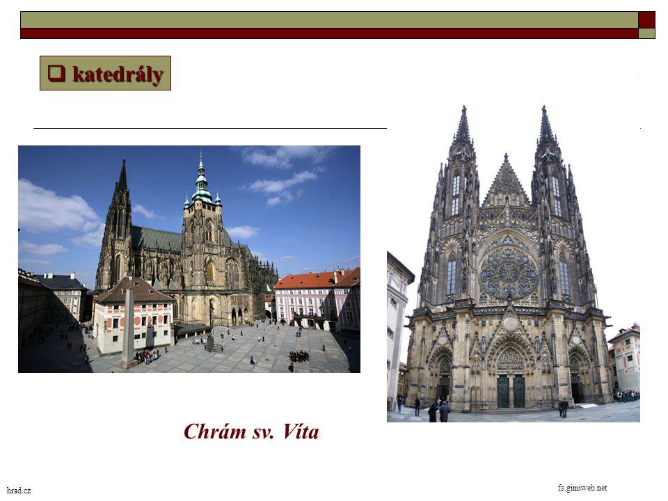 katedrály Chrám sv. Víta hrad.cz fs.gimiweb.net