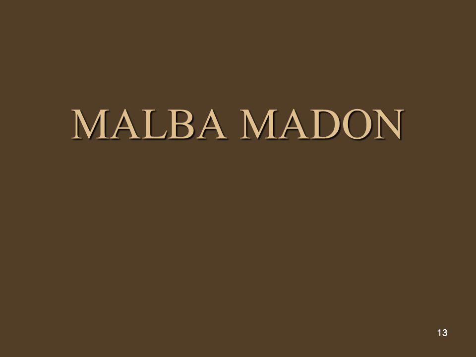 MALBA MADON