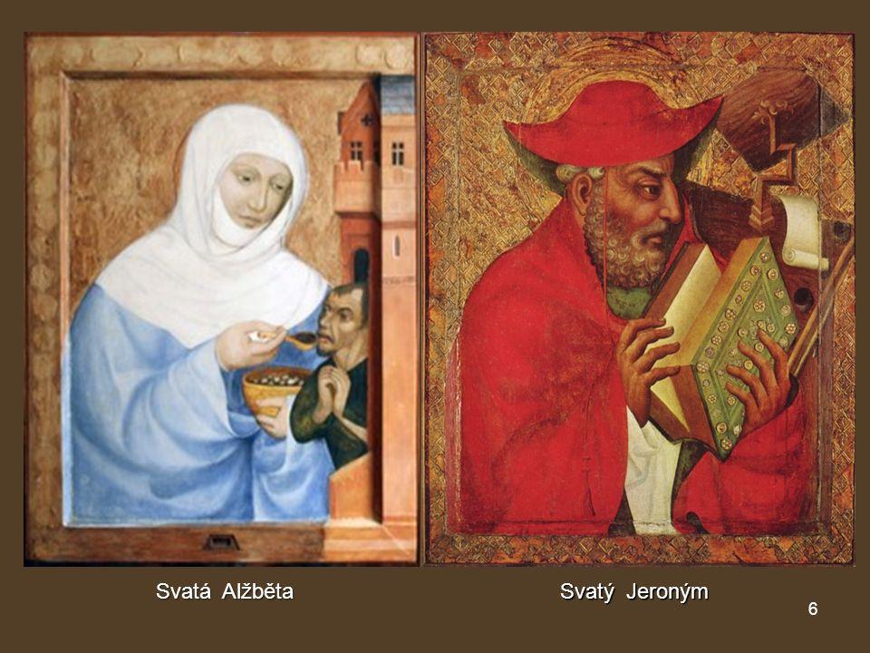 Svatá Alžběta Svatý Jeroným