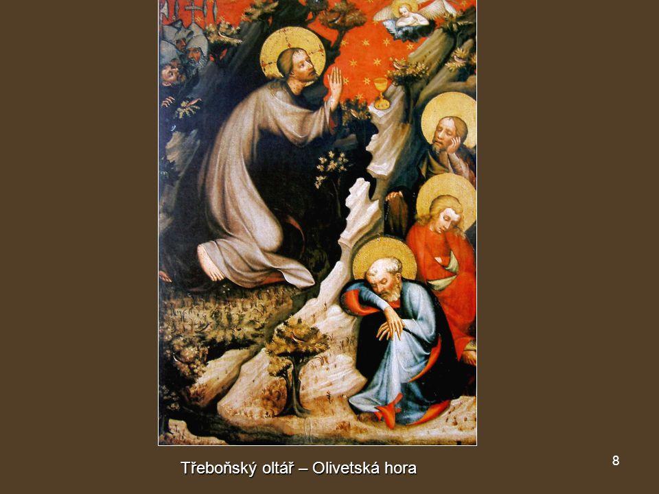 Třeboňský oltář – Olivetská hora