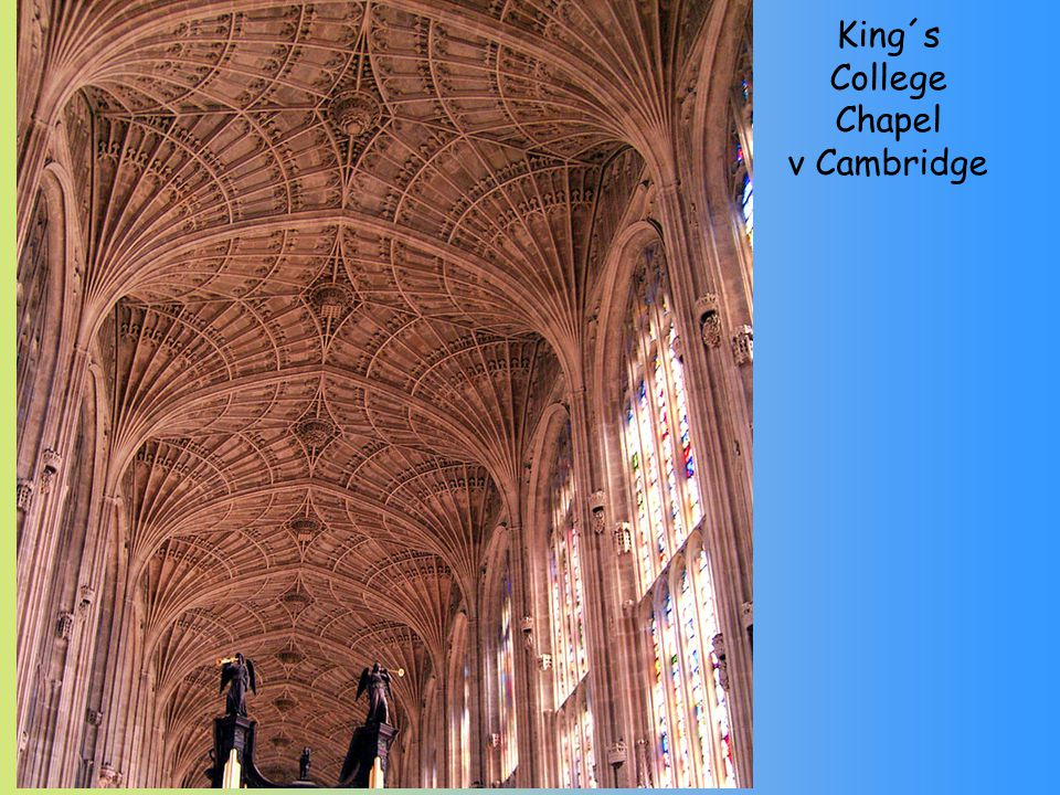 King´s College Chapel v Cambridge