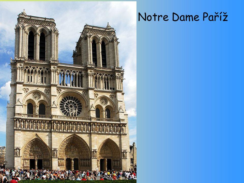 Notre Dame Paříž