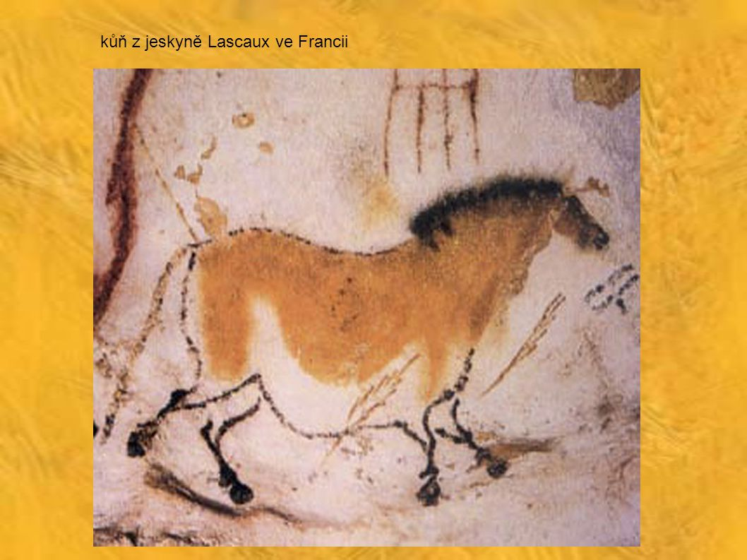 kůň z jeskyně Lascaux ve Francii