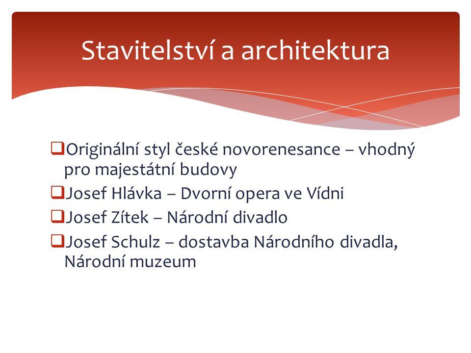 Stavitelství a architektura