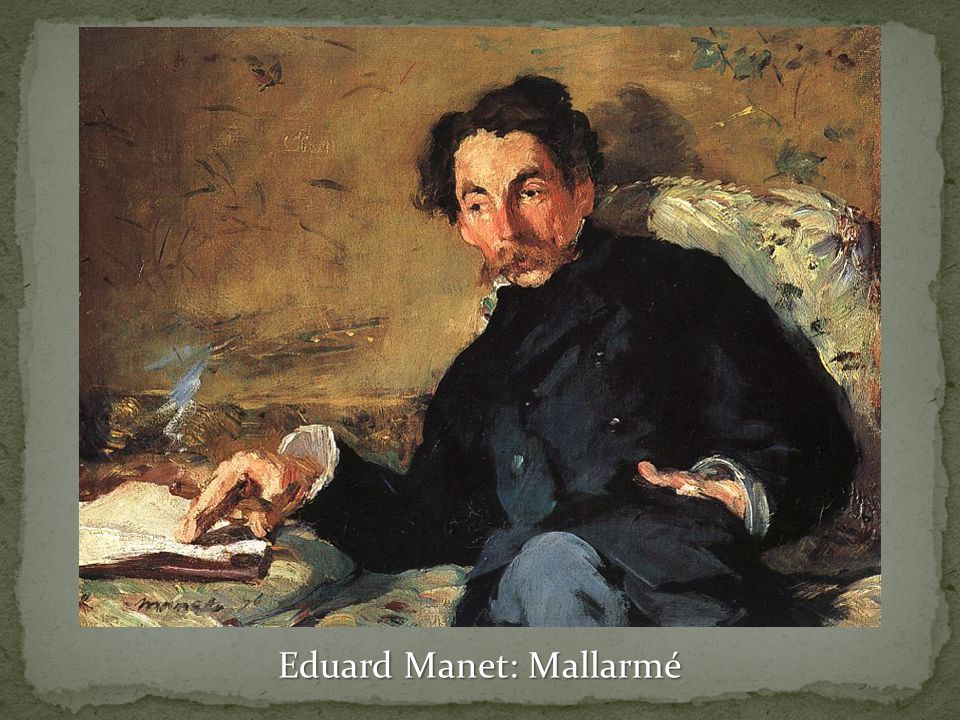 Eduard Manet: Mallarmé