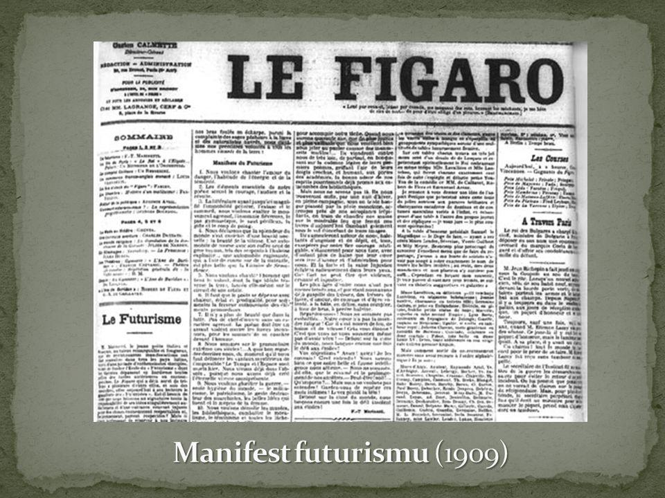 Manifest futurismu (1909)