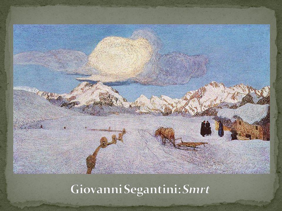 Giovanni Segantini: Smrt