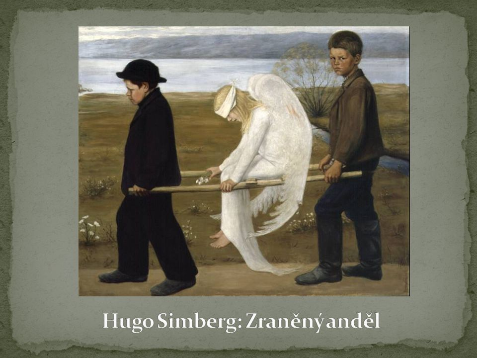 Hugo Simberg: Zraněný anděl