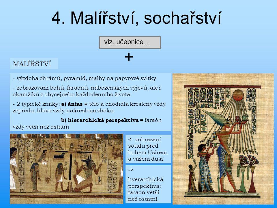 4. Malířství, sochařství + viz. učebnice… MALÍŘSTVÍ