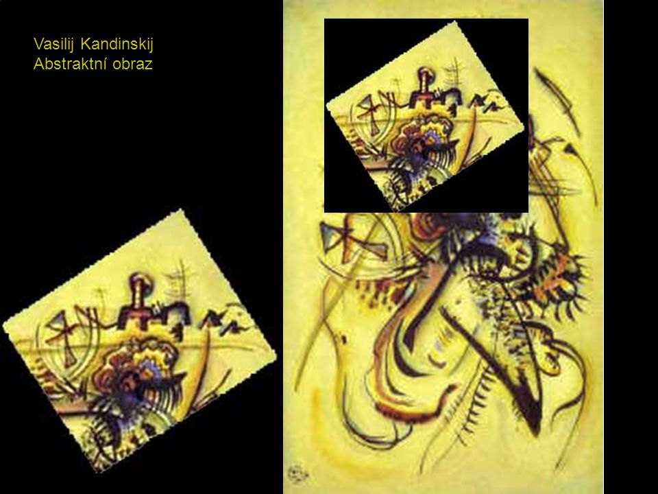 Vasilij Kandinskij Abstraktní obraz
