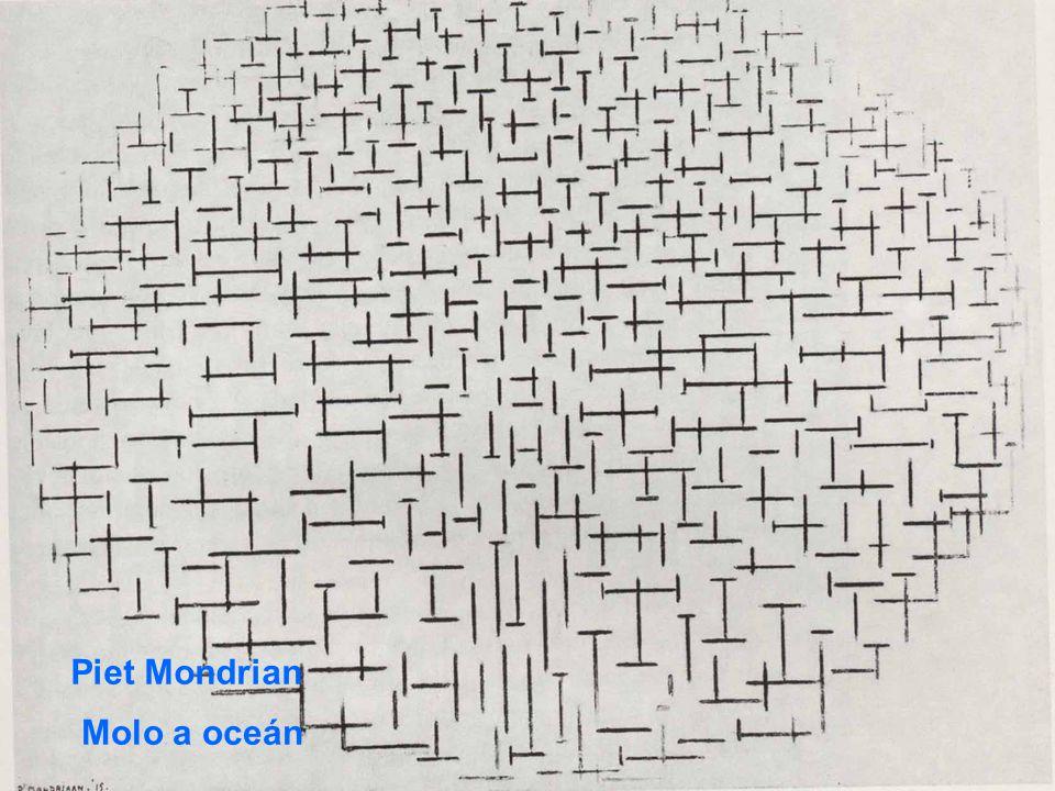 Piet Mondrian Molo a oceán
