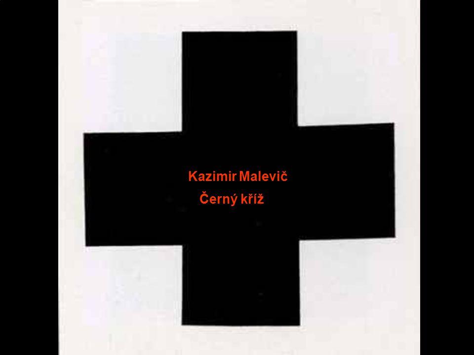 Kazimir Malevič Černý kříž