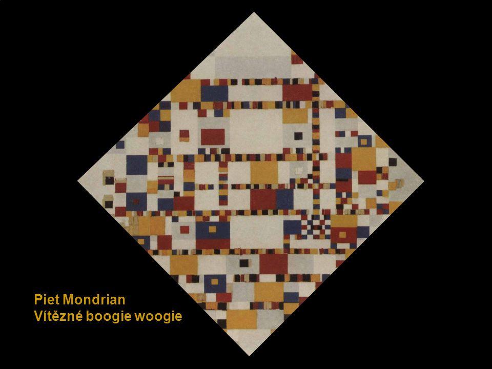 Piet Mondrian Vítězné boogie woogie