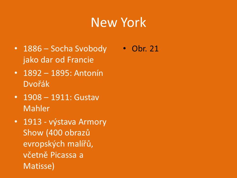 New York 1886 – Socha Svobody jako dar od Francie