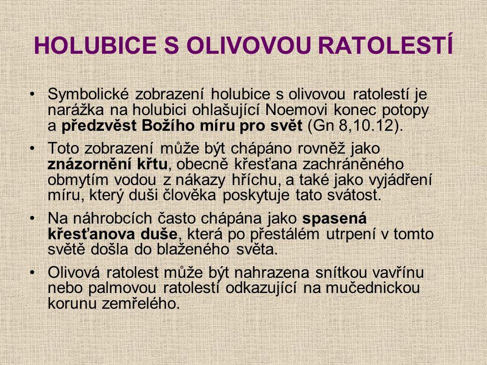 HOLUBICE S OLIVOVOU RATOLESTÍ