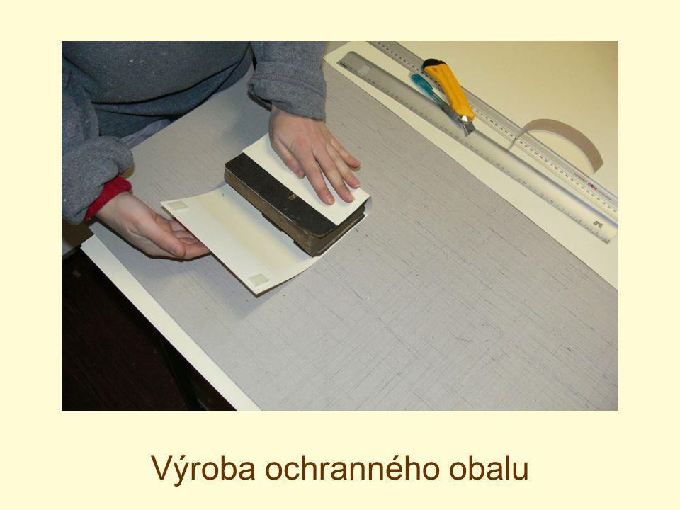 Výroba ochranného obalu
