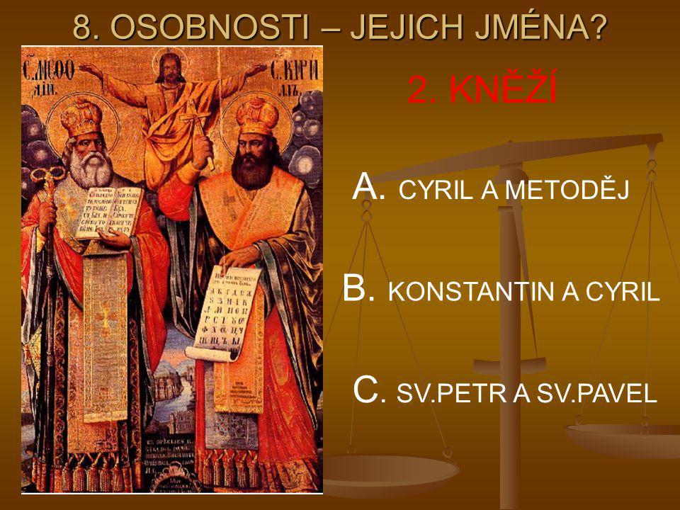 8. OSOBNOSTI – JEJICH JMÉNA