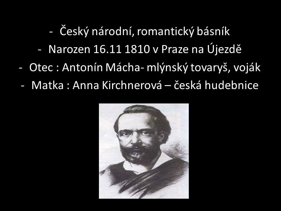 Ně Český národní, romantický básník