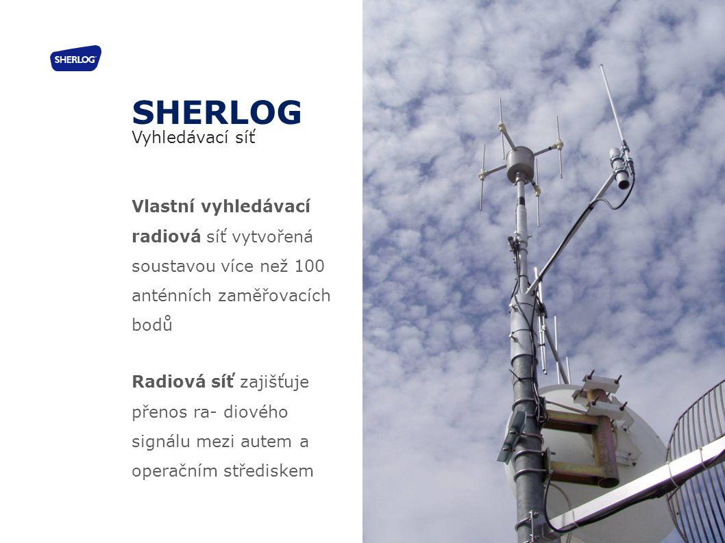 SHERLOG Vyhledávací síť