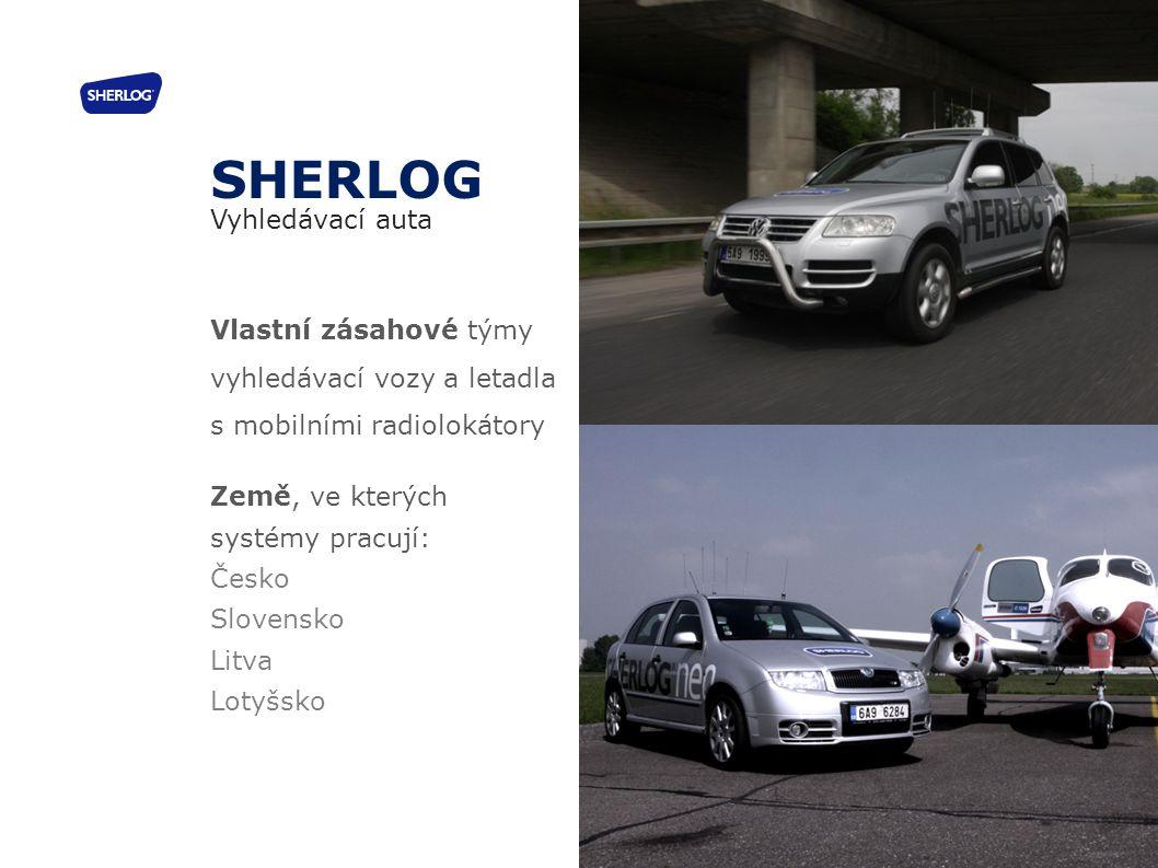 SHERLOG Vyhledávací auta