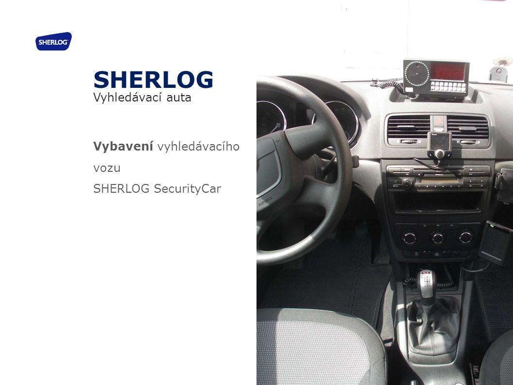 SHERLOG Vyhledávací auta Vybavení vyhledávacího vozu