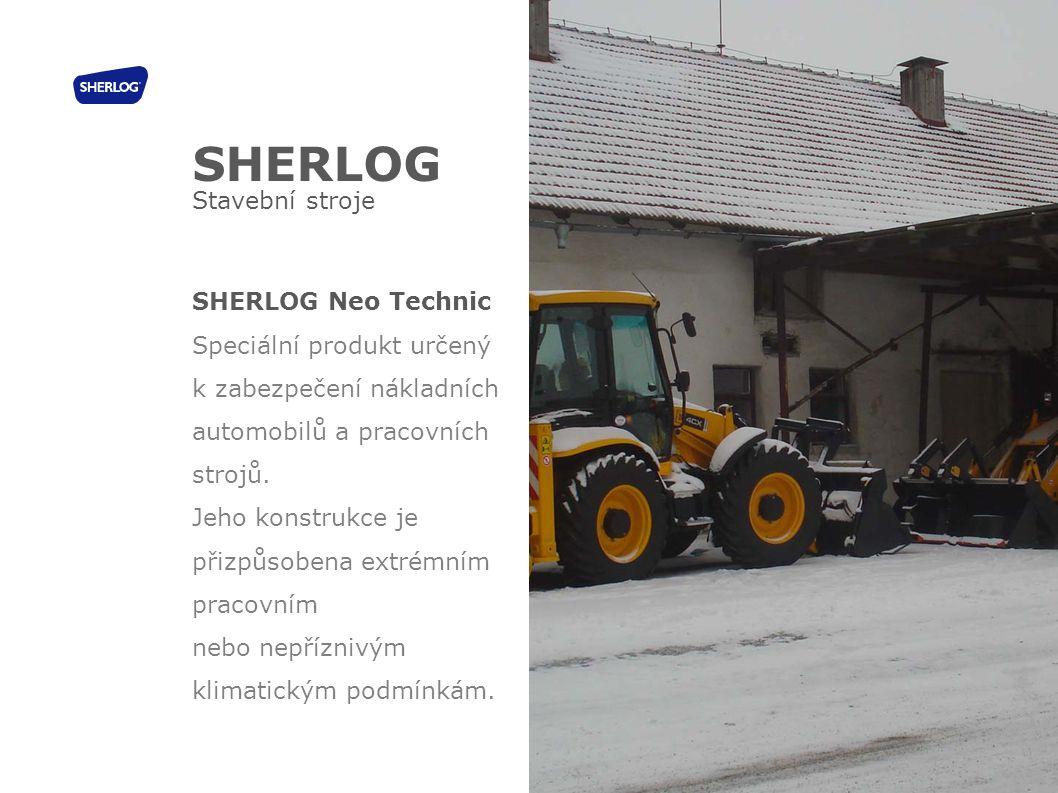 SHERLOG Stavební stroje SHERLOG Neo Technic Speciální produkt určený