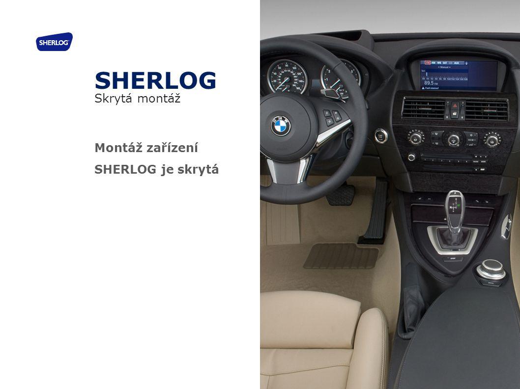 SHERLOG Skrytá montáž Montáž zařízení SHERLOG je skrytá 27 27