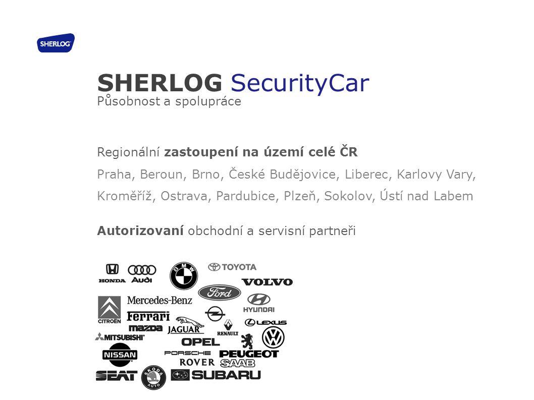 SHERLOG SecurityCar Působnost a spolupráce