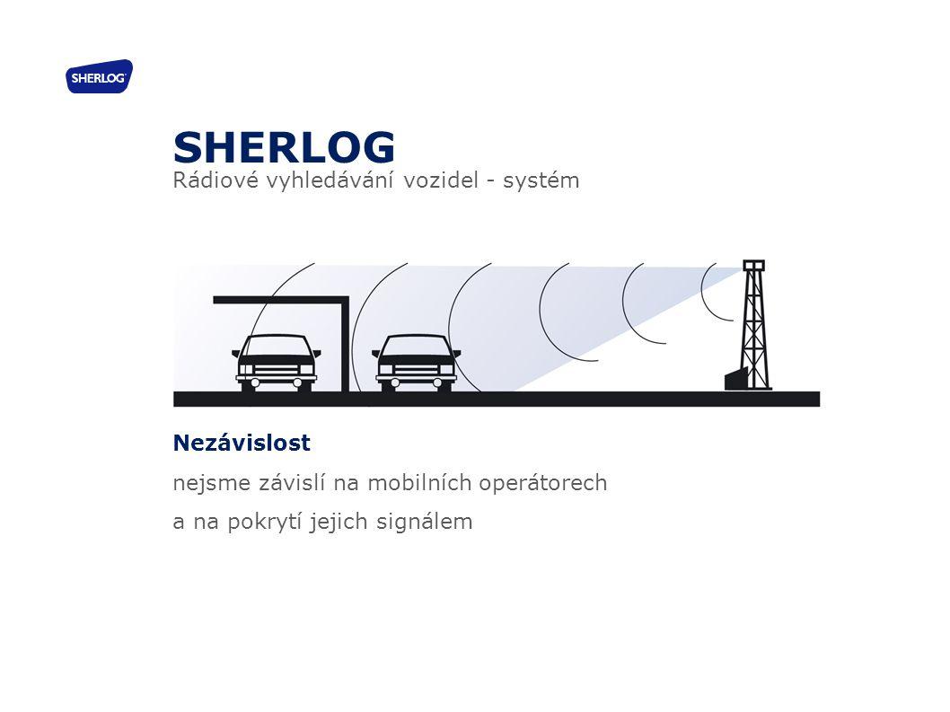 SHERLOG Rádiové vyhledávání vozidel - systém Nezávislost