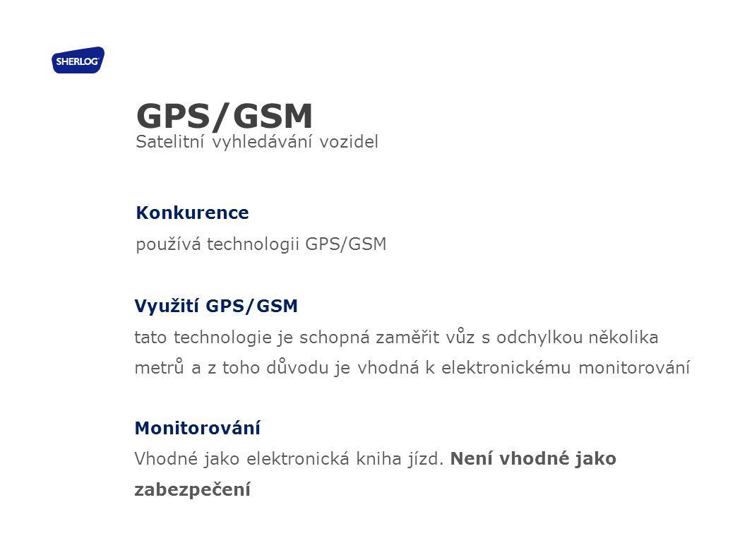 GPS/GSM Satelitní vyhledávání vozidel Konkurence