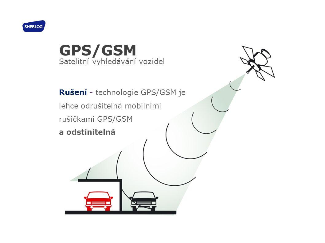 GPS/GSM Satelitní vyhledávání vozidel