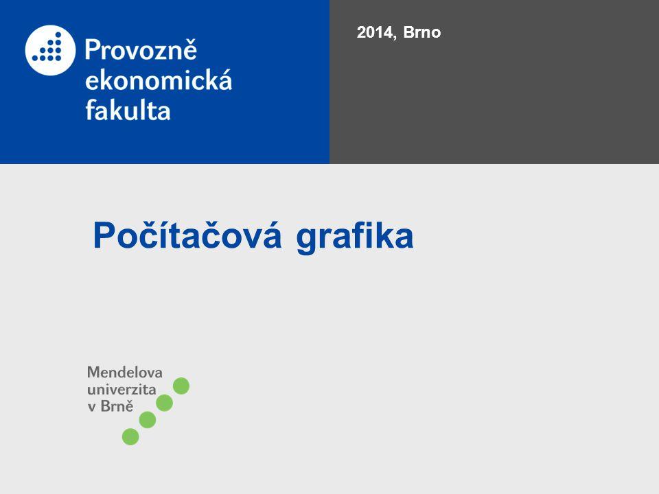 2014, Brno Počítačová grafika