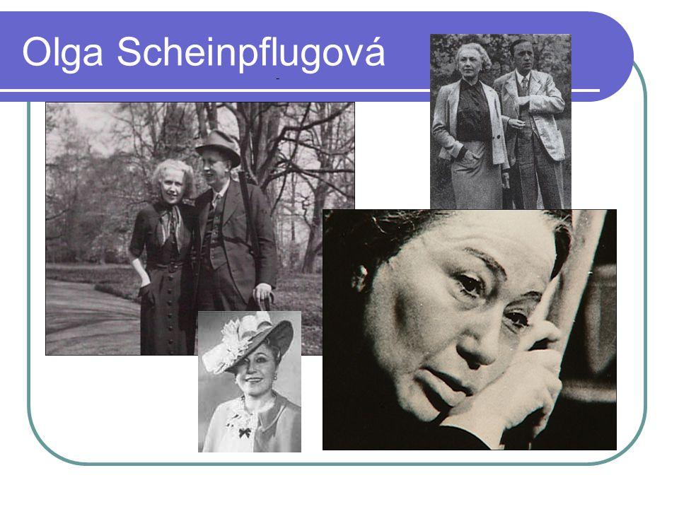 Olga Scheinpflugová -