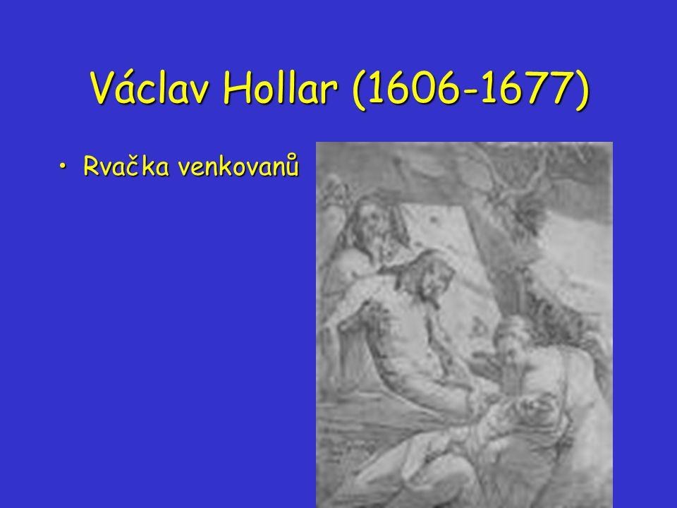 Václav Hollar (1606-1677) Rvačka venkovanů