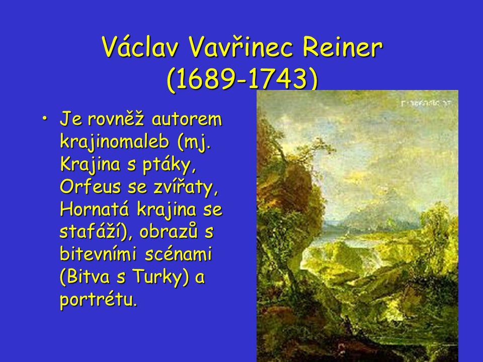 Václav Vavřinec Reiner (1689-1743)
