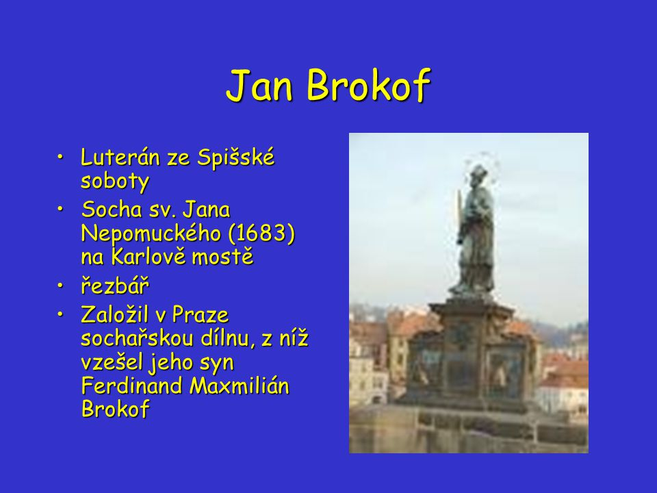 Jan Brokof Luterán ze Spišské soboty