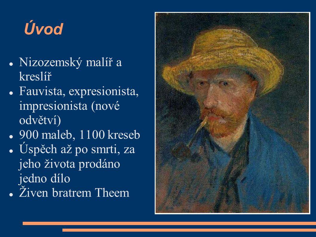 Úvod Nizozemský malíř a kreslíř