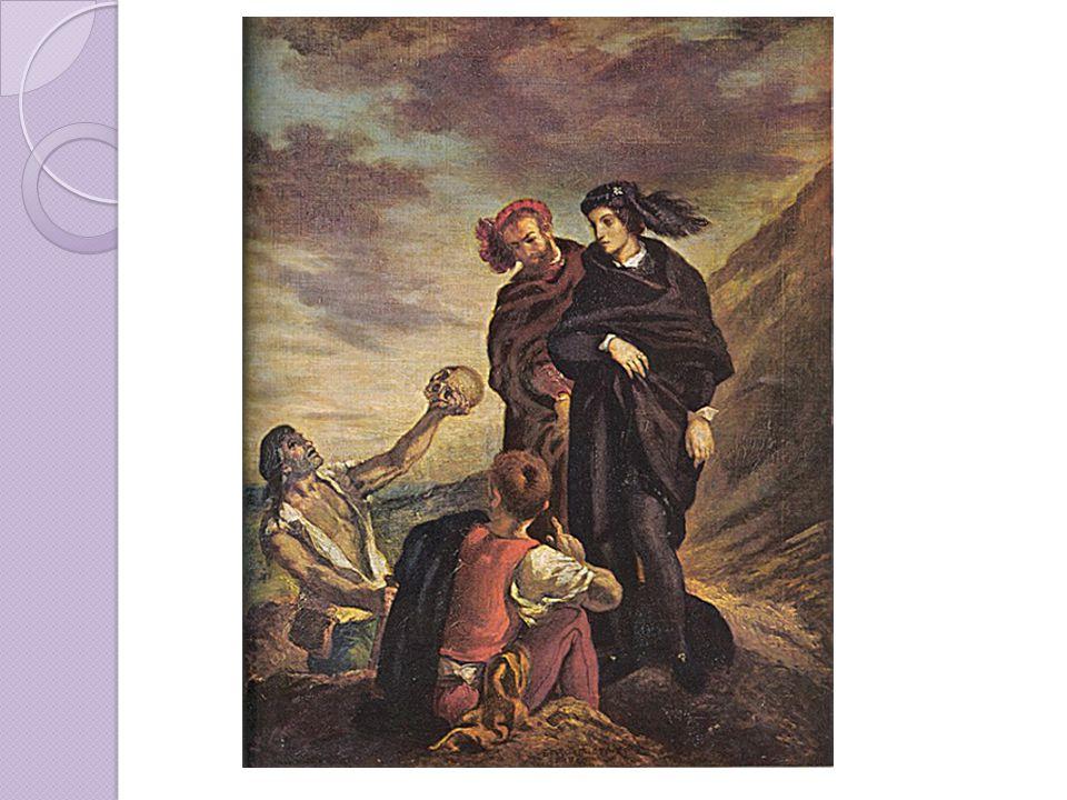 Delacroix – Hamlet a Horatius na hřbitově