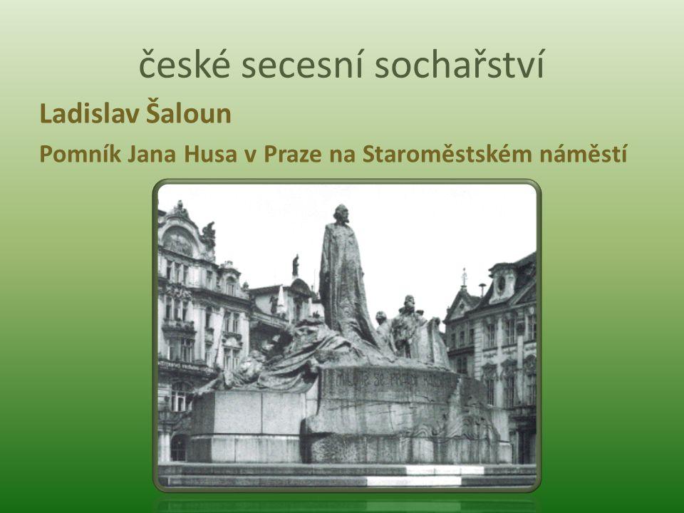 české secesní sochařství