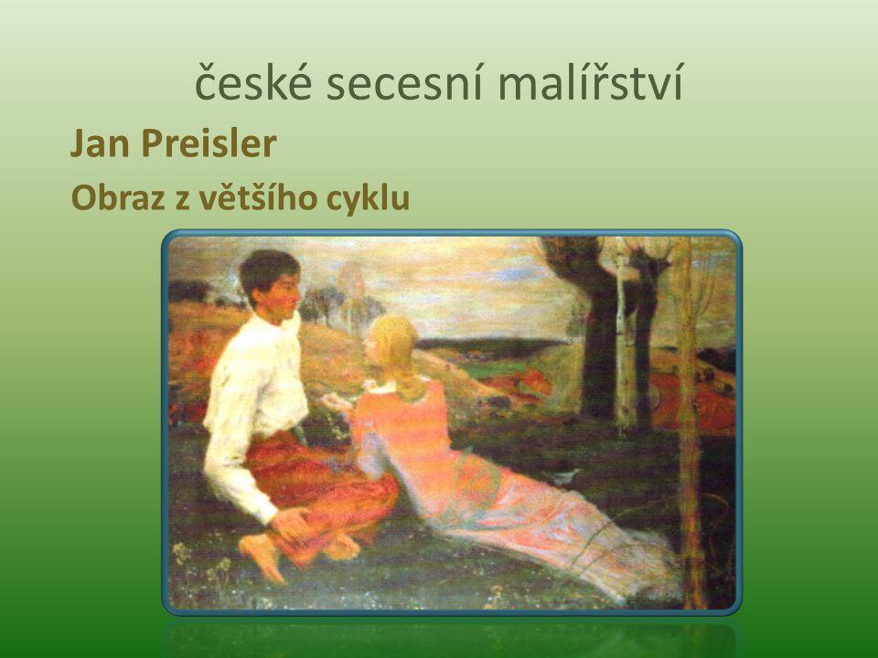 české secesní malířství