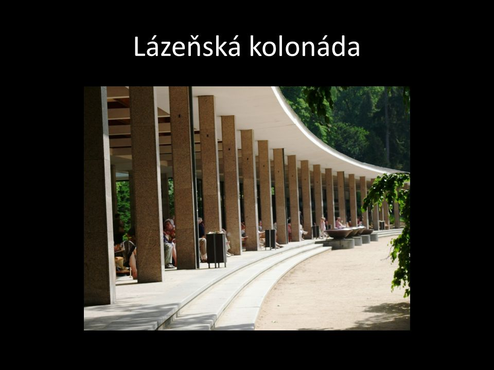 Lázeňská kolonáda