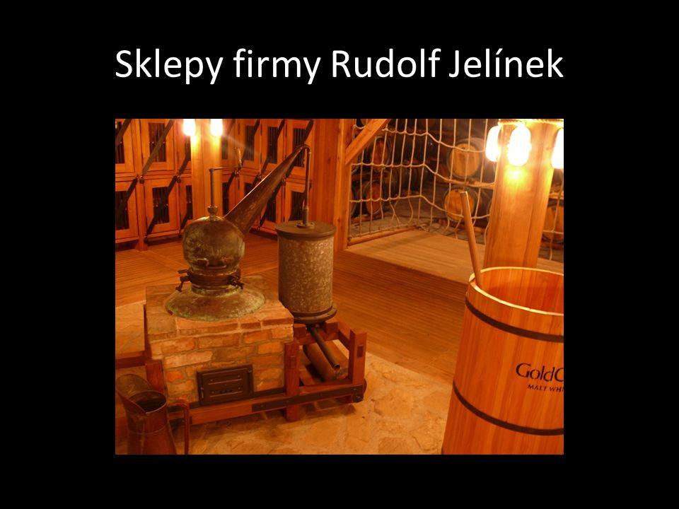 Sklepy firmy Rudolf Jelínek