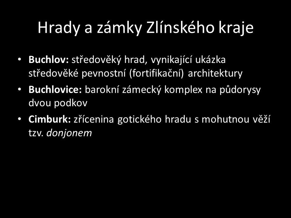 Hrady a zámky Zlínského kraje